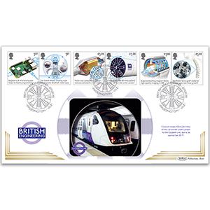 2019 British Engineering Stamps BLCS 5000