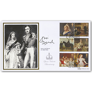 2019 Queen Victoria Stamps BLCS 2500 (Signed) Dame Judi Dench