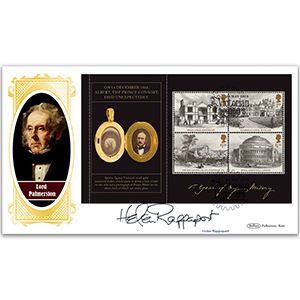 2019 Helen Rappaport Signed Queen Victoria PSB BLCS Cover 3 - (P3) M/S Pane