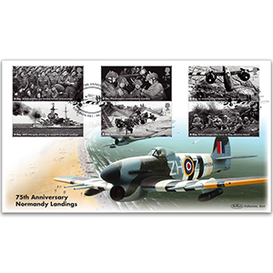 2019 D-Day Stamps BLCS 5000