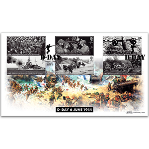 2019 D-Day Stamps BLCS 2500