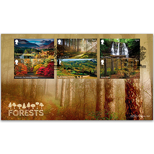 2019 Forests Stamps BLCS 5000