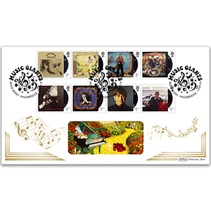 2019 Elton John Stamps BLCS 5000