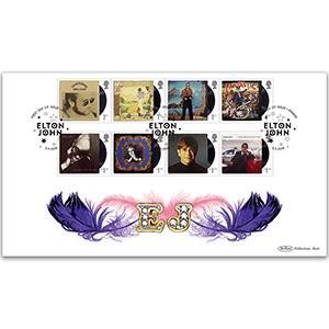 2019 Elton John Stamps BLCS 2500