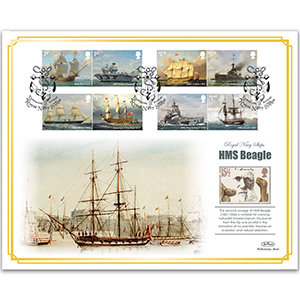 2019 Royal Navy Ships Stamps BLCS 5000