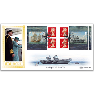 2019 Royal Navy Ships Retail Booklet BLCS 5000