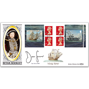2019 Royal Navy Ships Retail Booklet BLCS 2500 - Signed Dan Snow MBE