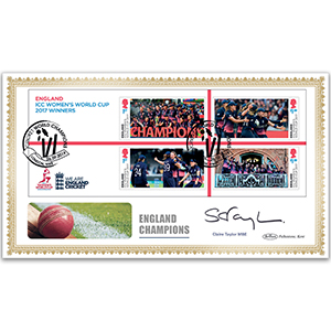 2019 Cricket - Womens M/S BLCS 2500 Signed Claire Taylor MBE