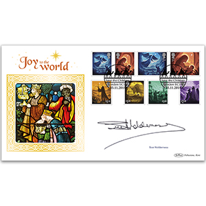2019 Christmas Stamps BLCS 2500 Signed Sue Holderness