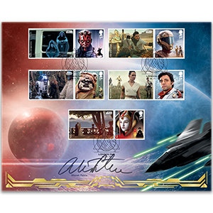 2019 Star Wars Generic Sheet BLCS Cover 2 Signed Alistair Petrie