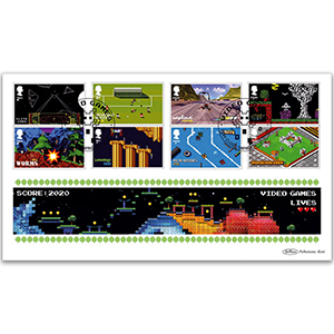 2020 Video Games Stamps BLCS 5000