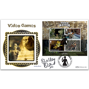 2020 Video Games M/S BLCS 5000 Signed Shelley Blond