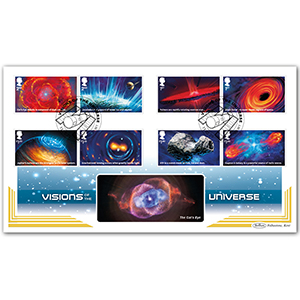 2020 Visions of the Universe Stamps BLCS 5000