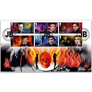 2020 James Bond Stamps BLCS 5000