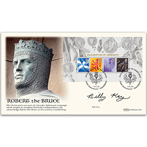 2020 Declaration of Arbroath M/S BLCS 5000 Signed Billy Kay