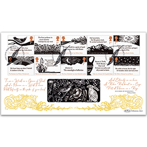 2020 Romantic Poets Stamps BLCS 2500