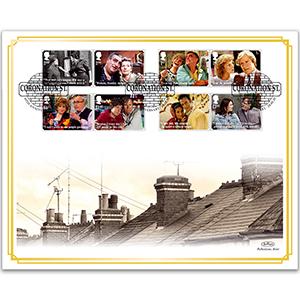2020 Coronation Street Stamps BLCS 5000