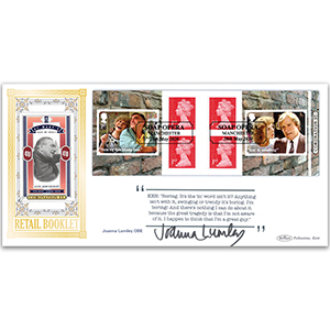 2020 Coronation Street Retail Booklet BLCS 2500 Signed Joanna Lumley OBE