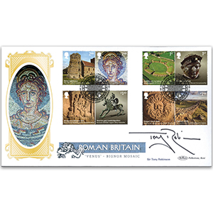 2020 Roman Britain Stamps BLCS 2500 Signed Sir Tony Robinson
