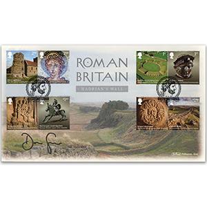 2020 Roman Britain Stamps BLCS 5000 Signed Dan Snow MBE