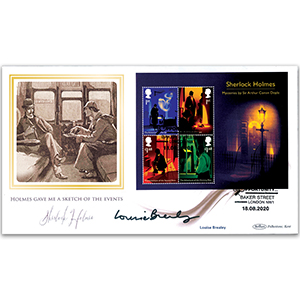 2020 Sherlock M/S BLCS 2500 Signed Louise Brealey