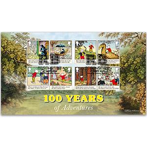 2020 Rupert Bear Stamps BLCS 5000