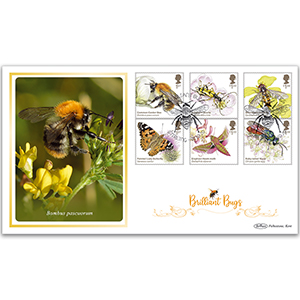 2020 Brilliant Bugs Stamps BLCS 5000