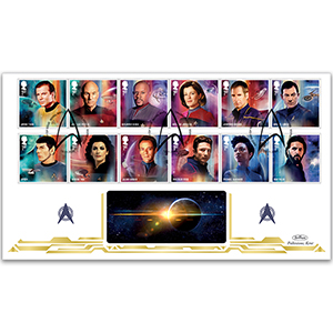2020 Star Trek Stamps BLCS 2500