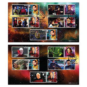 2020 Star Trek Generic Sheet BLCS 5000 Pair