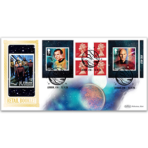 2020 Star Trek Retail Booklet BLCS 5000