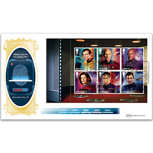 2020 Star Trek PSB BLCS Cover 1 - (P1) 1st x 6 (Kirk) pane