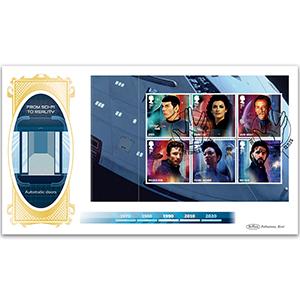 2020 Star Trek PSB BLCS Cover 2 - (P2) 1st x 6 (Spock) pane