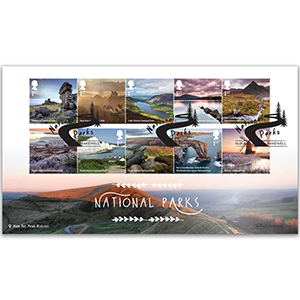 2021 National Parks Stamps BLCS 5000