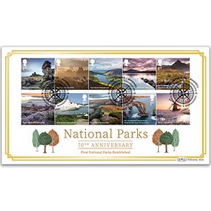2021 National Parks Stamps BLCS2500