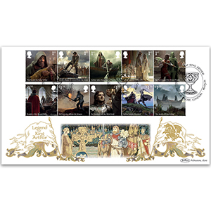 2021 Legend of King Arthur Stamps BLCS 5000