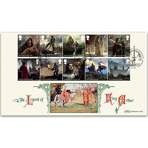 2021 Legend of King Arthur Stamps BLCS 2500