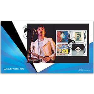 2021 Paul McCartney PSB BLCS Cover 2 - (P2) 4 x £1.70 Pane