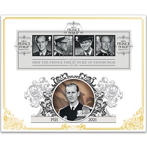 2021 HRH The Prince Philip, Duke of Edinburgh M/S BLCS 5000