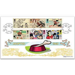 2021 Dennis and Gnasher Stamps BLCS 2500
