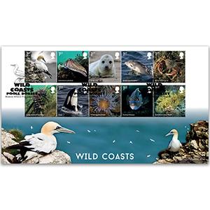 2021 Wild Coasts Stamps BLCS 5000