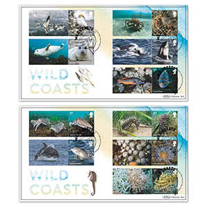 2021 Wild Coasts Collector Sheet BLCS 5000 Pair
