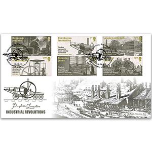 2021 Industrial Revolutions Stamps BLCS 5000