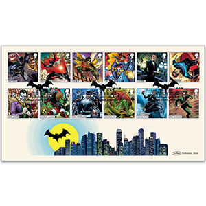 2021 DC Collection Stamps BLCS 5000