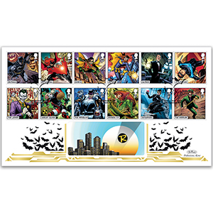 2021 DC Collection Stamps BLCS 2500
