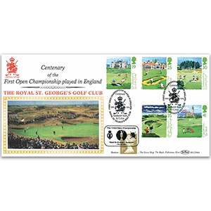 1994 Golf BLCS - Royal St George's - Doubled 2003