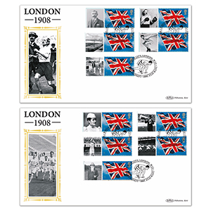 2008 Centenary of 1st London Olympics BLCS Pair