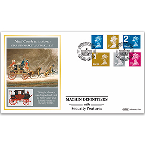 2009 Machin Definitives with Security Features BLCSSP