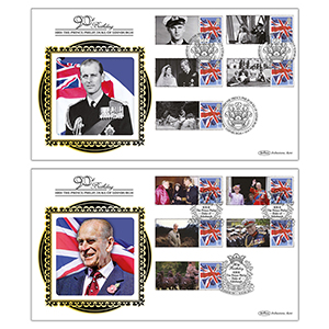 2011 Prince Philip's 90th Commemorative Sheet BLCSSP Pair