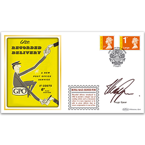 2013 Royal Mail Signed For Stamps BLCSSP - Signed Hugo Speer