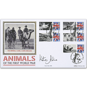 2015 Animals of WWI BLCSSP Cover 1 - Signed by Kate Adie OBE